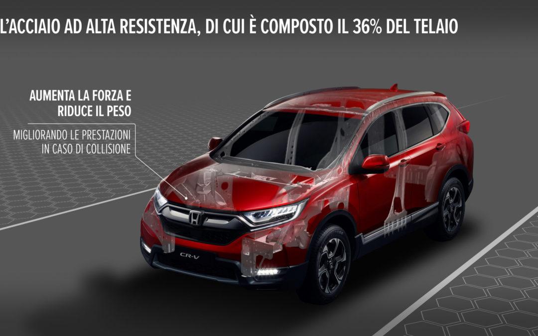 Honda CR-V 2018: caratteristiche tecniche